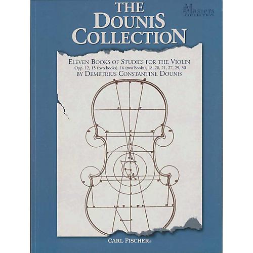 Carl Fischer Eleven Books Of Studies For The Violin Book