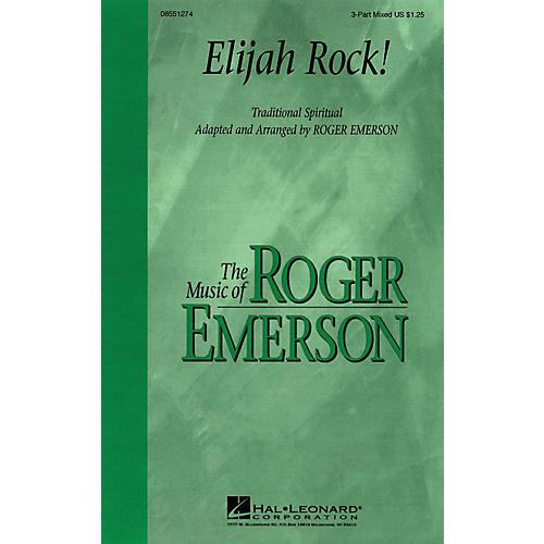 Hal Leonard Elijah Rock 3-Part Mixed