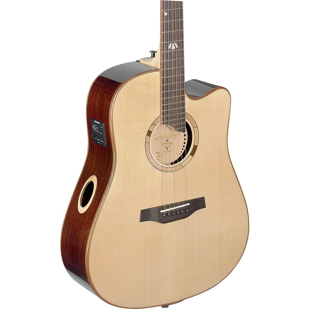 JN Guitars Elijah Series ELI-DCE Dreadnought Cutaway Acoustic-Electric