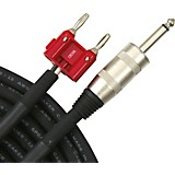 Livewire Elite 12g Speaker Cable Banana to 1/4 in. Male 50 ft. Black