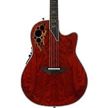Ovation Elite Plus C2078AXP-OAB Olive Ash Burl Acoustic-Electric Guitar Level 2 Natural 190839258328