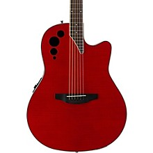 Elite Series AE44IIP Acoustic-Electric Guitar Transparent Cherry Flame