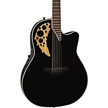 Ovation Elite TX Mid Depth Cutaway Acoustic-Electric Guitar