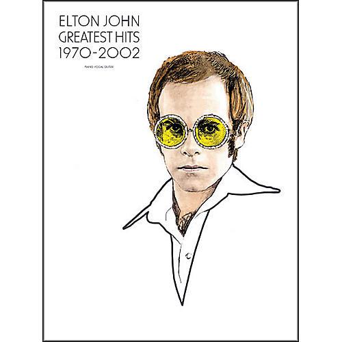 Hal Leonard Elton John - Greatest Hits 1970-2002 Piano, Vocal, Guitar Songbook