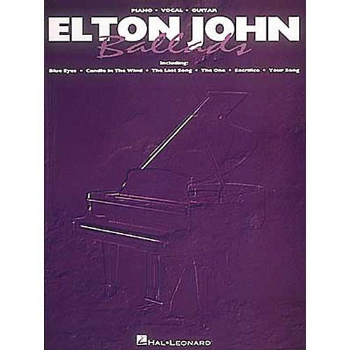 Hal Leonard Elton John Ballads Piano, Vocal, Guitar Songbook