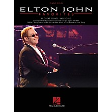 Hal Leonard Elton John Favorites - Piano Solo