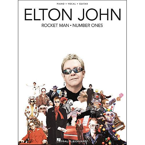 Hal Leonard Elton John Rocket Man Number Ones arranged for piano, vocal, and guitar (P/V/G)