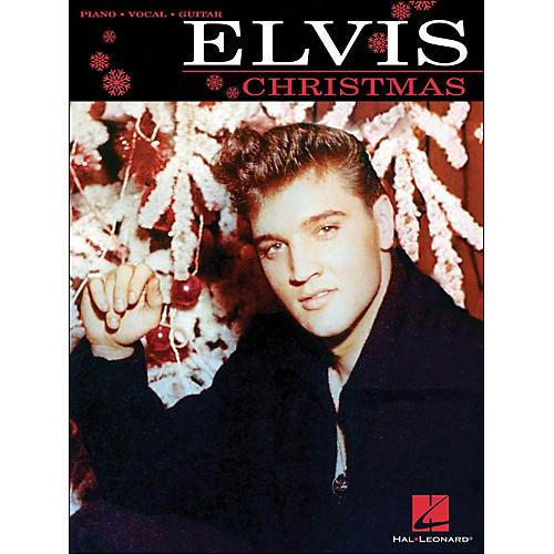 Hal Leonard Elvis Christmas arranged for piano, vocal, and guitar (P/V/G)