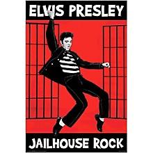 Hal Leonard Elvis Jailhouse Wall Poster