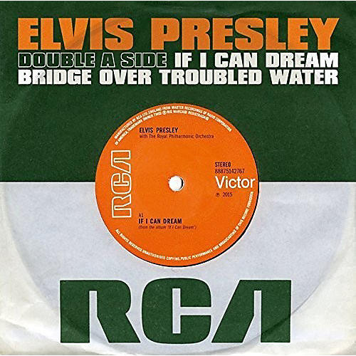Alliance Elvis Presley - If I Can Dream / Bridge Over Troubled Water