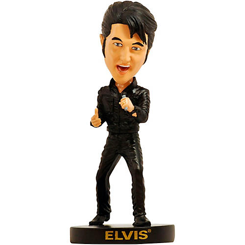 Entertainment Earth Elvis Presley 1968 Comeback Tour Bobble Head