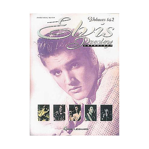 Hal Leonard Elvis Presley Anthology - Volumes 1 & 2 Piano, Vocal, Guitar Songbook