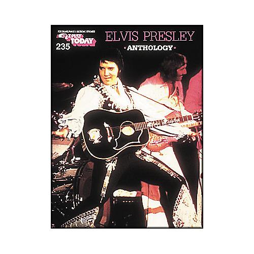 Hal Leonard Elvis Presley Anthology E-Z Play 235