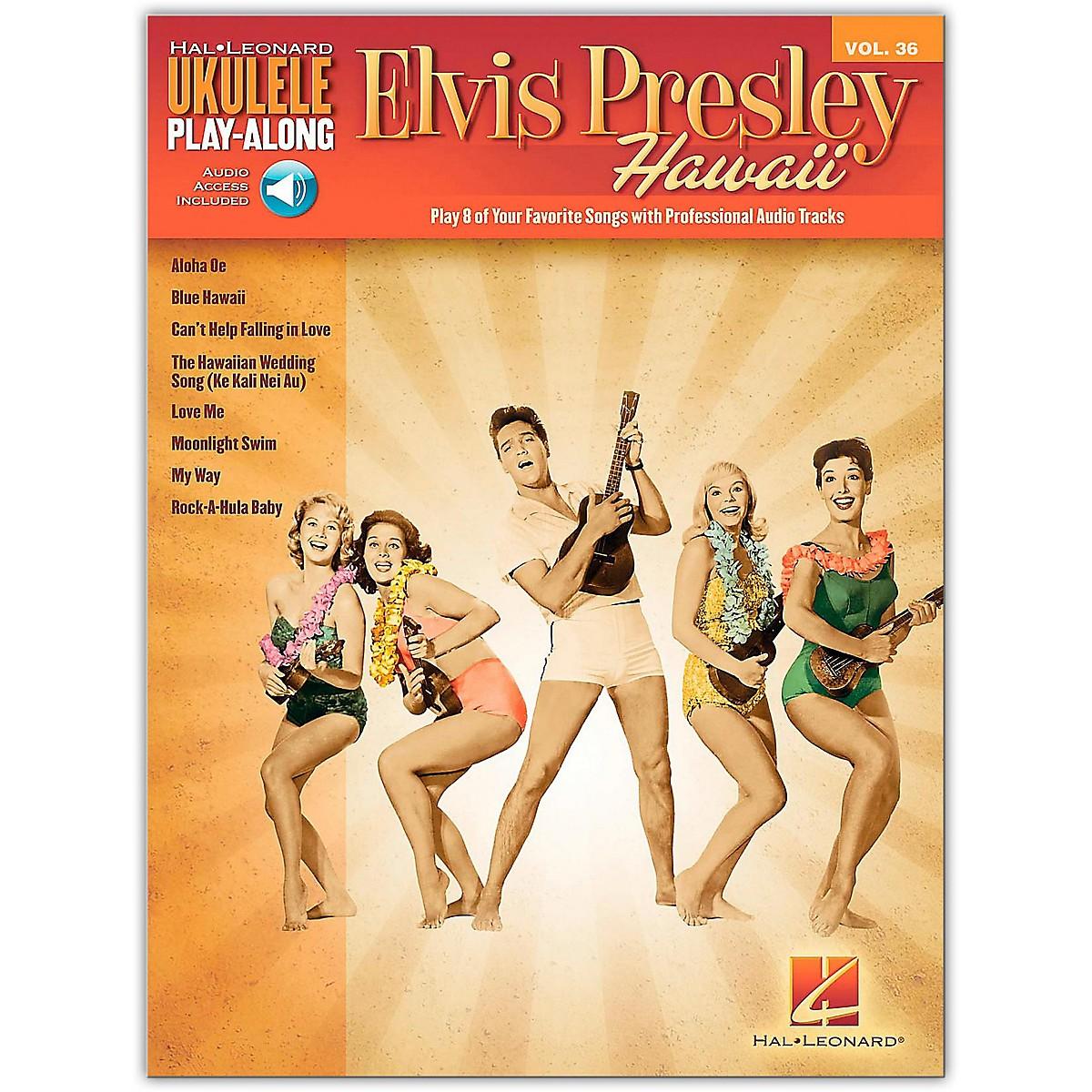 Hal Leonard Elvis Presley Hawaii - Ukulele Play-Along Vol. 36 Book/Online Audio