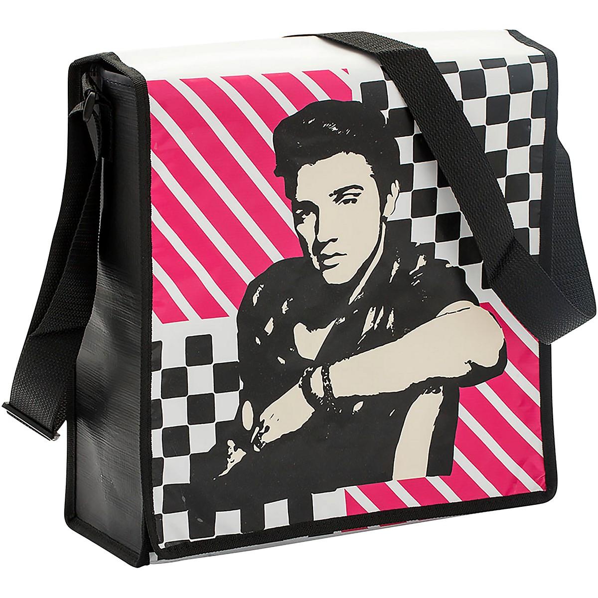 Vandor Elvis Presley Recycled Messenger Tote
