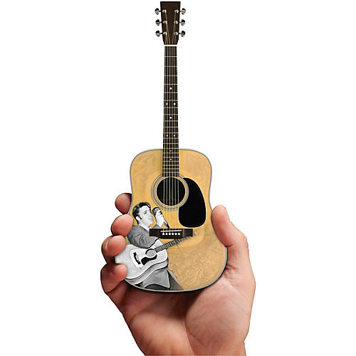 Axe Heaven Elvis Presley Signature '55 Tribute Acoustic Model Officially Licensed Miniature Guitar Replica