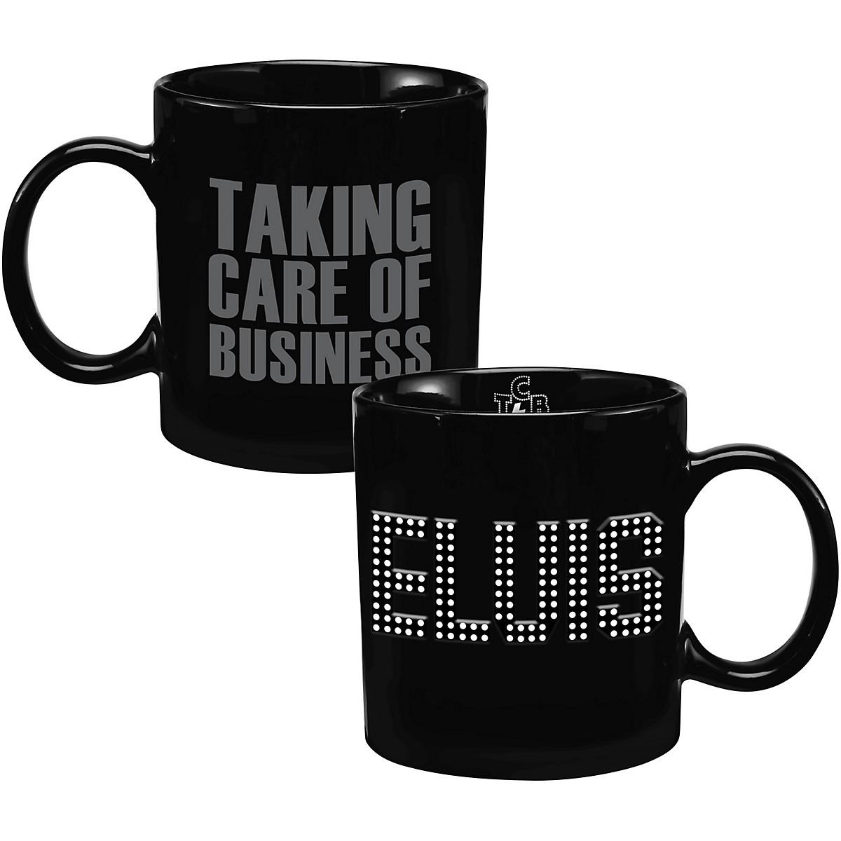 Vandor Elvis Presley Taking Care of Business 20 oz. Ceramic Mug