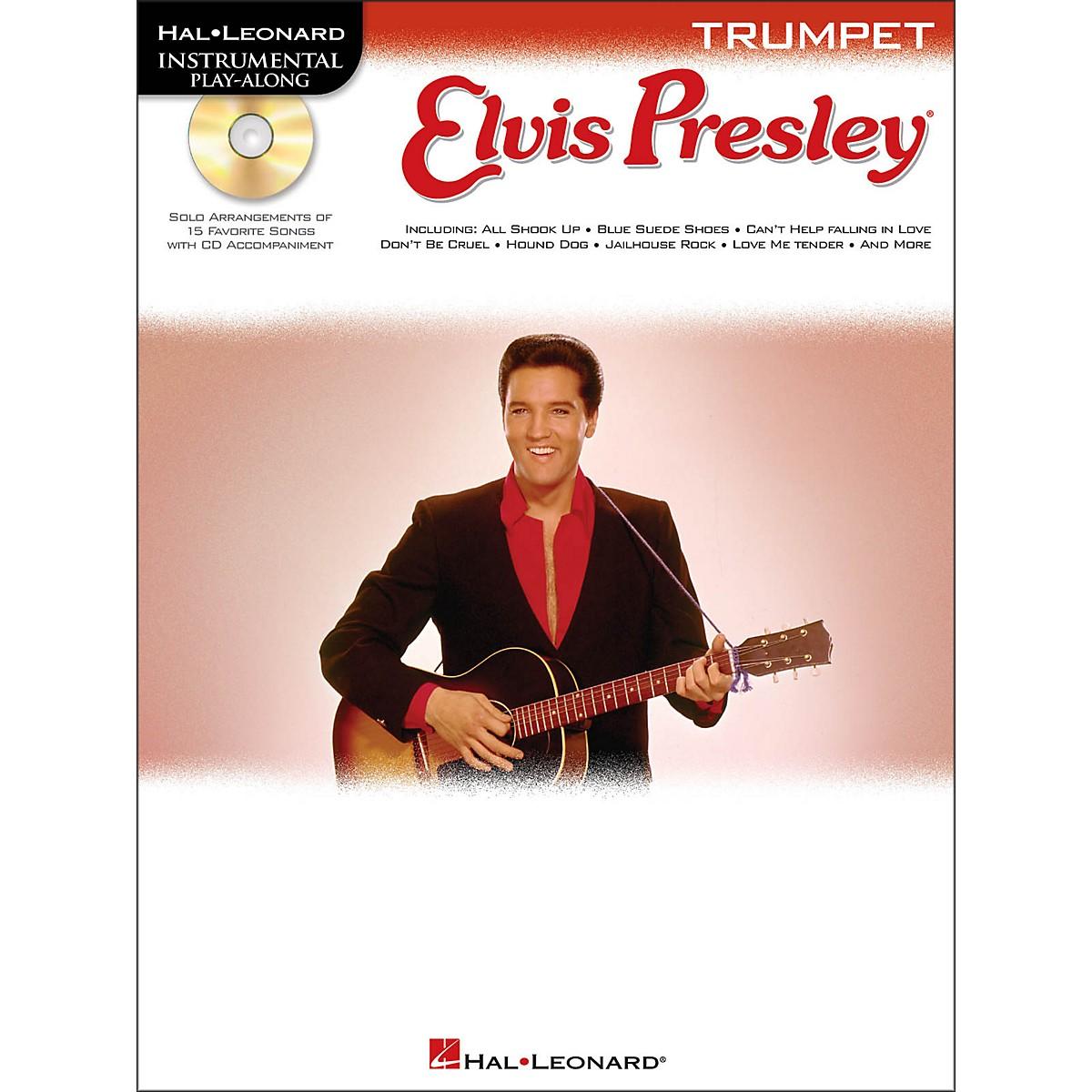 Hal Leonard Elvis Presley for Trumpet - Instrumental Play-Along Book/CD Pkg