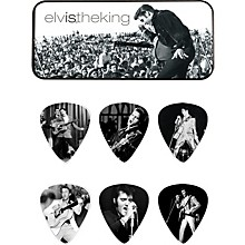 Dunlop Elvis the King Pick Tin with 6 Medium Picks