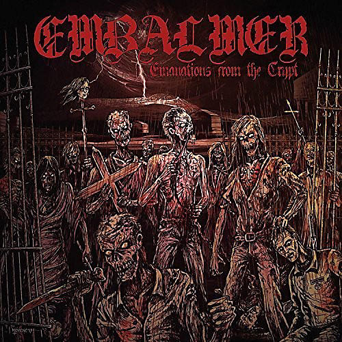 Alliance Embalmer - Emanations From The Crypt