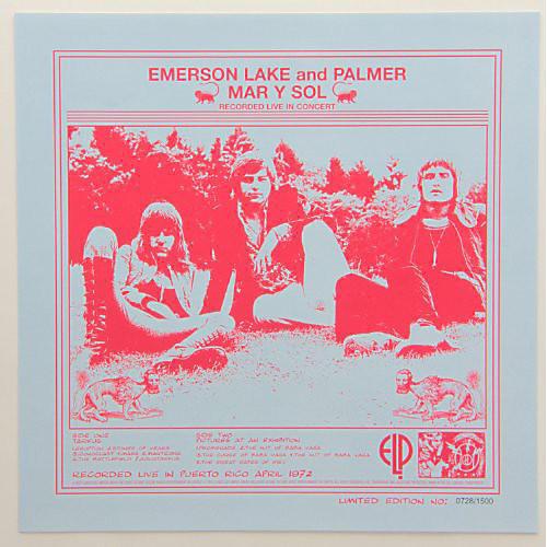 Alliance Emerson, Lake & Palmer - Mar y Sol