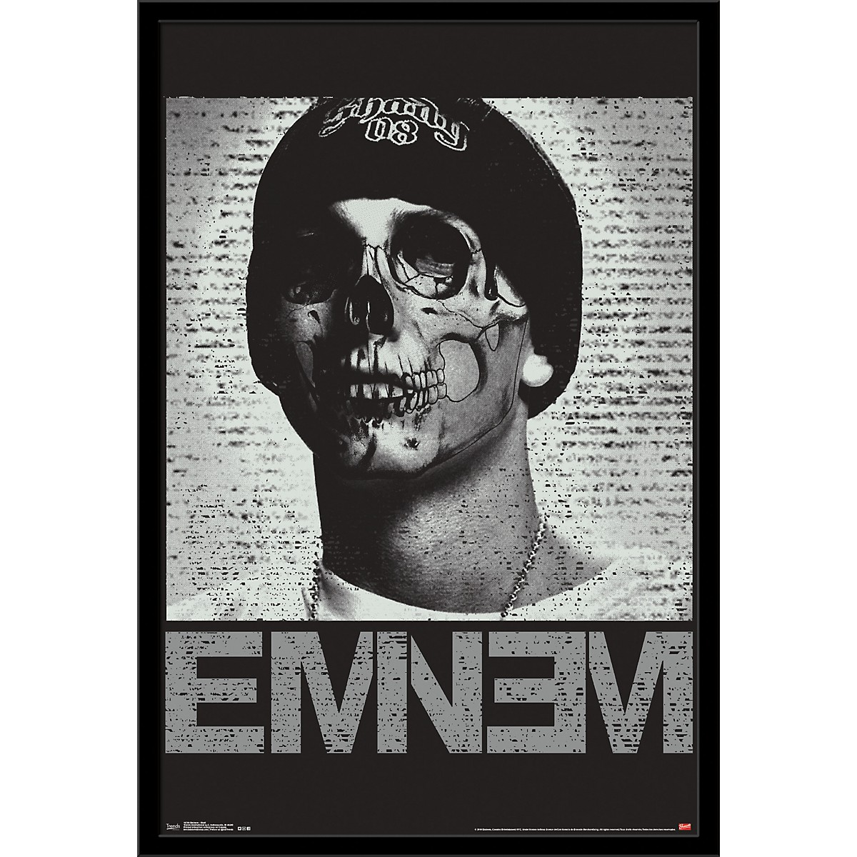 Trends International Eminem - Skull Poster
