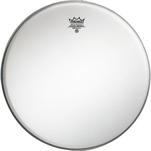 remo emperor coated white bass drum head 24 in guitar center. Black Bedroom Furniture Sets. Home Design Ideas
