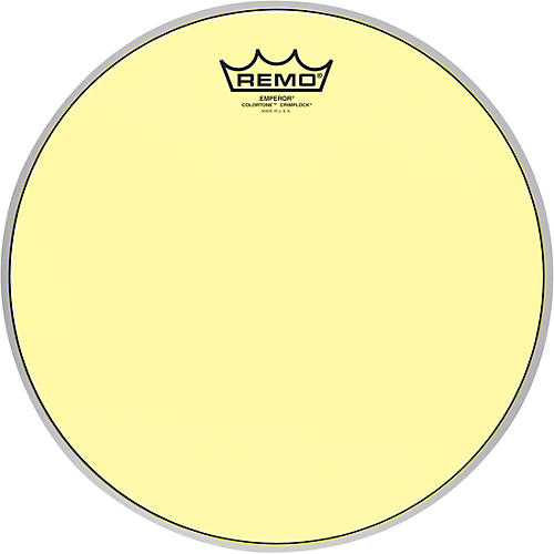 remo emperor colortone crimplock yellow tenor drum head 12 in guitar center. Black Bedroom Furniture Sets. Home Design Ideas