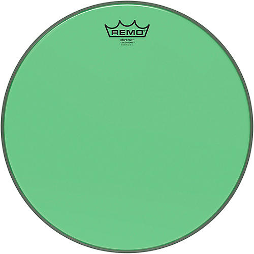 Remo Emperor Colortone Green Drum Head