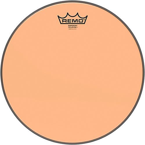 Remo Emperor Colortone Orange Drum Head