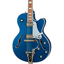 Emperor Swingster Hollow Body Electric Guitar Delta Blue Metallic