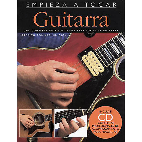 Music Sales Empieza A Tocar Guitarra Music Sales America Series Softcover with CD Written by Various
