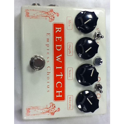 Red Witch Empress Chorus Effect Pedal
