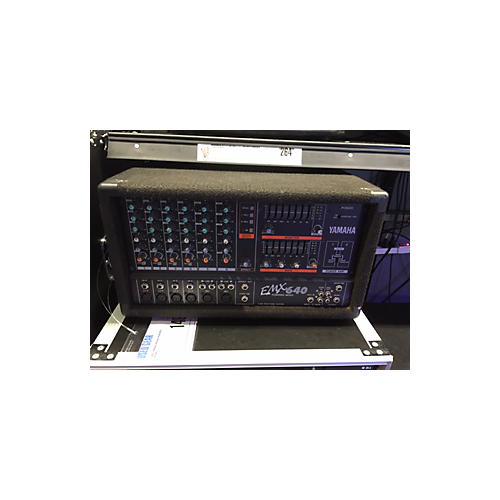 Yamaha Emx640 Powered Mixer