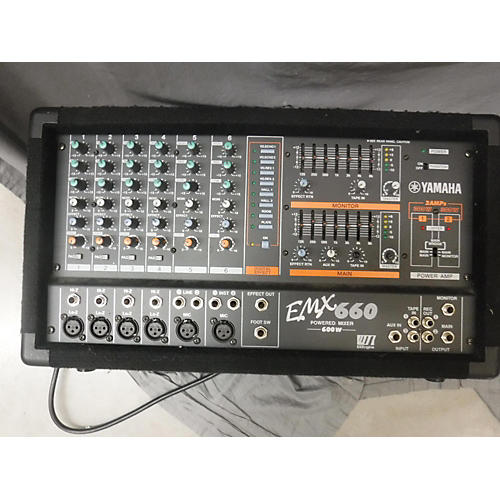 Yamaha Emx660 Powered Mixer