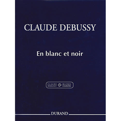 Editions Durand En blanc et noir Editions Durand Series Softcover