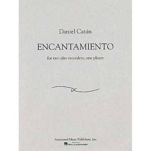 Associated Encantamiento (for Two Alto Recorders, One Player) Woodwind Series