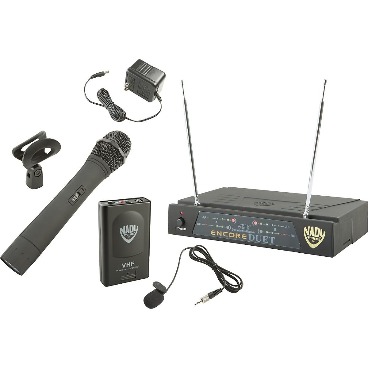 Nady Encore DUET HT/LT/O Combo Wireless System