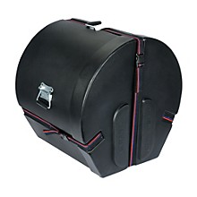 Humes & Berg Enduro Bass Drum Case with Foam Level 1 Black 18x22