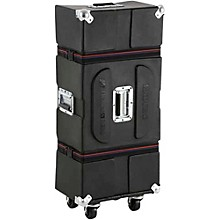 Enduro Hardware Case with Casters and Foam Black 36 in.