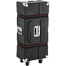 Enduro Hardware Case with Casters and Foam Black 45.5 in.