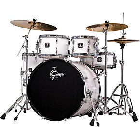 gretsch drums energy 5 piece drum set with hardware and sabian cymbals guitar center. Black Bedroom Furniture Sets. Home Design Ideas