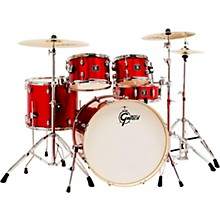 Energy 5-Piece Drum Set With Hardware and Zildjian Cymbals Red