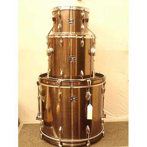 used gretsch drums energy drum kit metallic gray guitar center. Black Bedroom Furniture Sets. Home Design Ideas