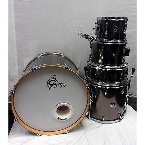 used gretsch drums energy drum kit silver guitar center. Black Bedroom Furniture Sets. Home Design Ideas