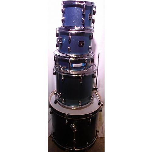 used gretsch drums energy drum kit blue sparkle guitar center. Black Bedroom Furniture Sets. Home Design Ideas