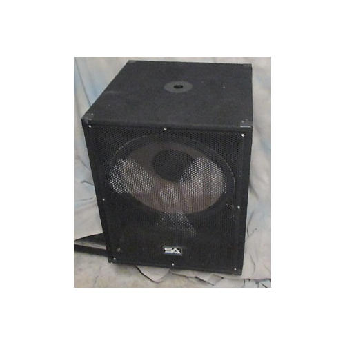 Seismic Audio Enforcer II PW Powered Subwoofer