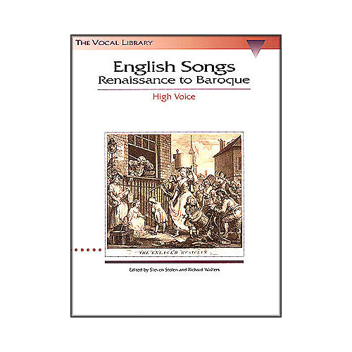 Hal Leonard English Songs - Renaissance To Baroque for High Voice (The Vocal Library Series)