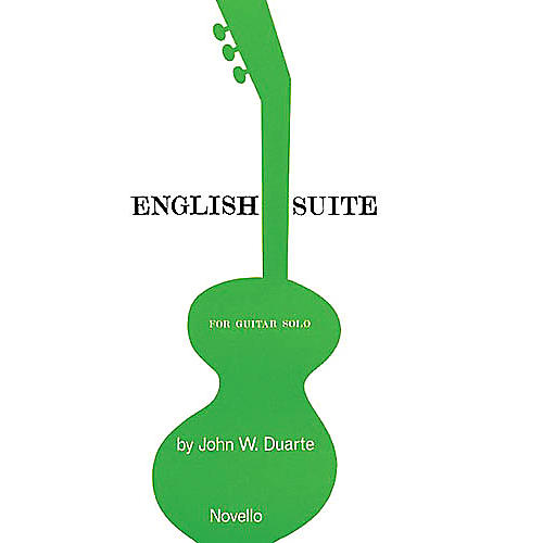 Novello English Suite for Guitar Music Sales America Series