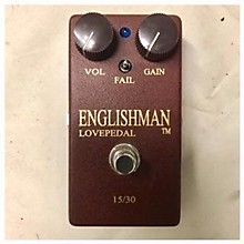 Lovepedal Englishman Effect Pedal
